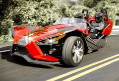 3-wheel cars | All-New Polaris Slingshot 3 Wheel Car Launches For $20,000 (video)