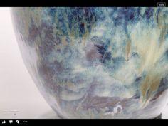 Amaco - heavy brush strokes of Palladium over Tourmaline