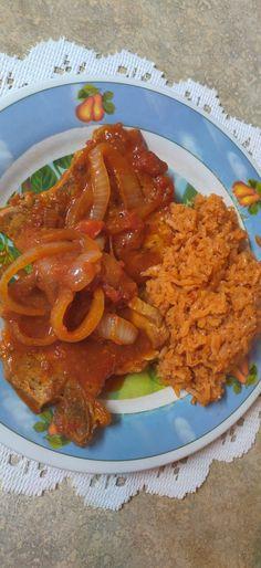 Pork Chop Dinner, Pork Chops, Crockpot, Tube, Potatoes, Tutorials, Facebook, Baking, Salsa Roja