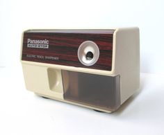 Panasonic Pencil Sharpener Retro Office by TheVintageResource