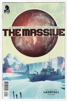 Massive #1 Regular Brian Wood Cover (2012)