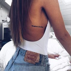 Tattoos women, side boob tattoo, back quote tattoos, tattoo quote placement Tattoo Platzierung, Tattoo Set, Piercing Tattoo, Rib Tattoo Quotes, Bikini Tattoo, Rib Tattoos For Women Quotes, Tattoos For Women Small, Let Go Tattoo, Side Quote Tattoos