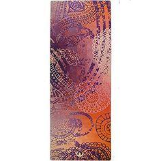 Amazon.com : Printed Yoga Mat, Prana Yoga Mat, Bikram Yoga Mat - Incredibly Comfortable Yoga Mats for Men and Women - Gorgeous Microfiber Printed Designs - Boho Style in Pink - Boho Chic - Soul Obsession : Sports & Outdoors