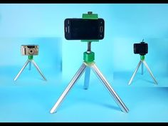 How to Make a Tripod for Smartphone - YouTube