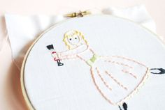 Nutcracker Sweets - Christmas Ballet PDF Hand Embroidery Pattern $4.00 from wildolive on etsy
