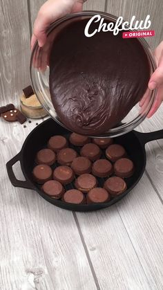 Chocolate lovers, we designed this one just for you! 😍🍪❤️  Find the full recipe at chefclub.tv! Fun Baking Recipes, Sweet Recipes, Cookie Recipes, Snack Recipes, Dessert Recipes, Köstliche Desserts, Delicious Desserts, Yummy Food, Twisted Recipes