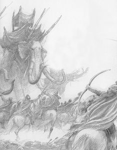 alan_lee_the lord of the rings_sketchbook_17_grond06.jpg (1247×1600)