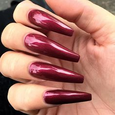 Absolutely fantastic claws!!!! Love the length and colour and shine!!!!