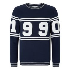 Buy John Lewis Boys' 1990 Sweatshirt, Navy from our Boys' Sweats, Fleeces & Hoodies range at John Lewis. Free Delivery on orders over £50.
