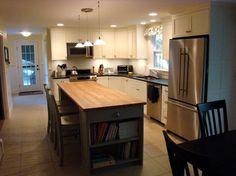 Cumberland Maine Kitchen - contemporary - kitchen - portland maine - Robin Amorello, CKD CAPS - Atmoscaper Design