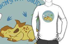 Cute Pachyrhinosaurus T-Shirt #dinosaurs #pachyrhinosaurus #jurassic #cute #yellow