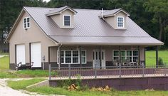 1000 ideas about metal building houses on pinterest for Pole barn homes indiana