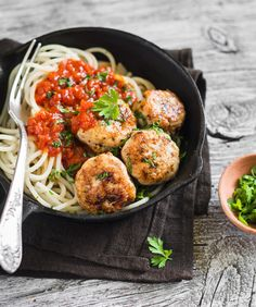 Traditional Italian Chicken Meatballs (Polpette di Pollo) | Enjoy this authentic Italian recipe from our kitchen to yours. Buon Appetito!