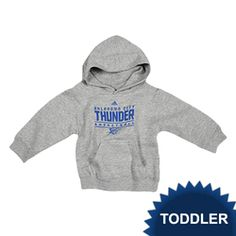 3c51a221 Even little Thunder fans need to keep warm while they're Thundering up! Oklahoma  City Thunder adidas Toddler Hoodie - available on nbathundershop.com