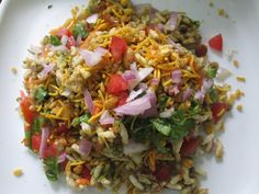 Great Bhel puri recipe in tamil, Indian street food - puffed rice recipes / pori /murmure, ,