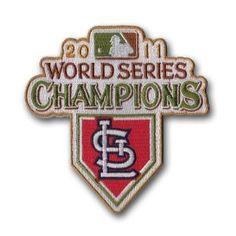 MLB St. Louis Cardinals 2011 World Series Champions Logo Patch