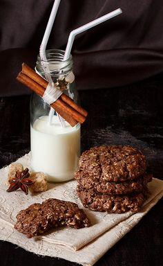 Cookies and milk. | Flickr - Photo Sharing!
