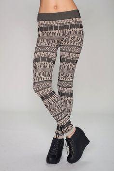 sweater leggings.