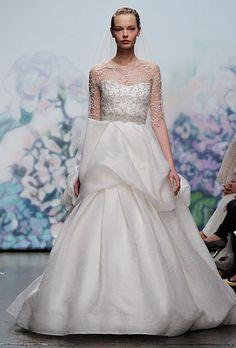 Trends of Wedding Dresses 2013 Winter