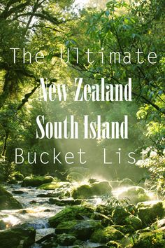 South Island New Zealand is filled with so much beauty. This bucket list will help you discover the best places to go in South Island New Zealand! Nz South Island, New Zealand South Island, New Zealand Itinerary, New Zealand Travel Guide, New Zealand Tours, Moving To New Zealand, Living In New Zealand, The Road, Auckland