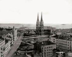 I.K.Inha: Helsinki, Finland- Johanneksen kirkko 1890-luvulla