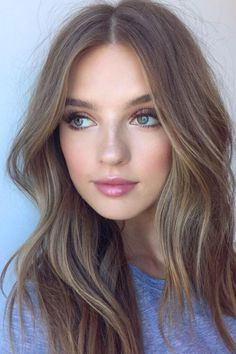 Ash brown hair is great for women with cool undertones #ashbrown #haircolor