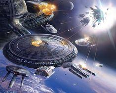 The Work of Stephan Martiniere Star Trek Theme, Star Wars, Sci Fi Spaceships, Space Battles, Samsung Galaxy Wallpaper, Classic Sci Fi, Lego War, Star Trek Ships, Space Crafts