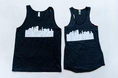 City Hartford Skyline Tank by hartfordprints on Etsy
