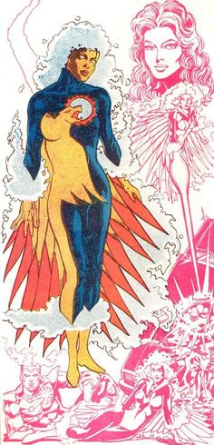 firehawk dc comics | Size of this preview: 230 × 478 pixels . Other resolution: 115 × 240 ...