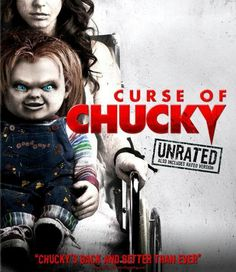 Dourif, Brad - Curse Of Chucky (Dvd/ Ultraviolet) He's back! From the filmmakers that brought you Chucky comes the terrifying return of the. Scary Movies, Hd Movies, Movies To Watch, Movies Online, Movies And Tv Shows, Movie Tv, Awesome Movies, Halloween Movies, Slasher Movies