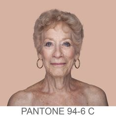 Human Pantone by Angelica Dass. Portraits whose background is dyed with the exact Pantone® tone extracted from a sample of 11x11 pixels of the portrayed's face. The project's objective is to record and catalog all possible human skin tones. S)