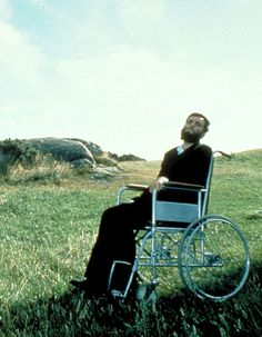 """Daniel Day-Lewis en """"Mi Pie Izquierdo"""" (My Left Foot), 1989"""