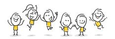 Strichfiguren / Strichmännchen: Jubel, freuen, Teamwork. (Nr. 80) Powerpoint Icon, Simple Powerpoint Templates, Creative Powerpoint, Keynote Template, Simple Business Plan Template, Business Presentation Templates, Business Proposal Template, Presentation Design Template, Fantasy Mermaid