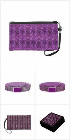 Purple Fashion for Her  #signature #unique #art #designs #exclusive #original #artistic #creation #fashion #accessories #designer #collection #her #women #purple