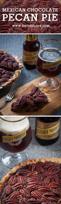 Mexican Chocolate Pecan Pie Recipe. Photo and recipe by Irvin Lin of ...