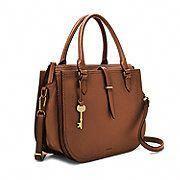 Fossil Women Sac Double Porté Ryder Marron - One size Fall Handbags, Cute Handbags, Cheap Handbags, Hobo Handbags, Prada Handbags, Luxury Handbags, Cross Body Handbags, Purses And Handbags, Handbags Online