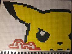 Pixelart...Pikachu