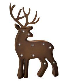 Look at this #zulilyfind! Marquee LED Light-Up Deer Statue #zulilyfinds