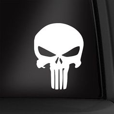 Punisher 4 1/2 inch vinyl decal #marvel #sticker multiple #colors available! new!,  View more on the LINK: http://www.zeppy.io/product/gb/2/222011666501/