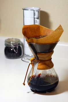 Life goal #1 = brew coffee in a Chemex.