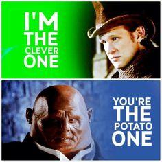 You're the potato one