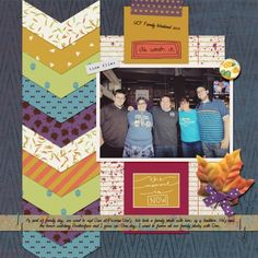 family weekend by Brenda Hollingsworth. Made with the Autumn Art bundle from PixelScrapper.com