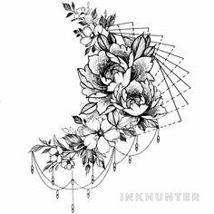half sleeve tattoo ideas – tattoos for women half sleeve Upper Half Sleeve Tattoos, Hip Thigh Tattoos, Leg Tattoos Women, Knee Tattoo, Tattoos For Women Half Sleeve, Shoulder Tattoos For Women, Dope Tattoos, Full Sleeve Tattoos, Body Art Tattoos