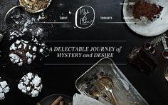 Mah Ze Dahr Bakery Monster Smoothie Recipe, Southern Caramel Cake, Bakery Website, Recipe Sites, Web Ui Design, Food Design, Graphic Design, Design Art, Product Page