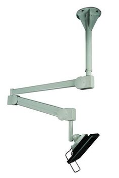 DC982CA Healthcare Ceiling Monitor Arm & Mount - Rotating - Long Reach – Oceanpointe Distributors Corporation