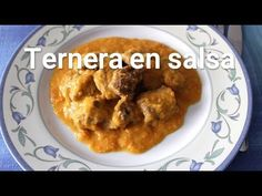 Cómo hacer ternera en salsa Meat, Chicken, Cooking, Youtube, Vegetables, Family Meals, Ox, Traditional Styles, Slow Cooking