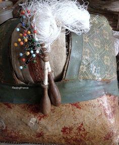 FleaingFrance Brocante Society Antique Lace Maker's Form fleaingfrance.bigcartel