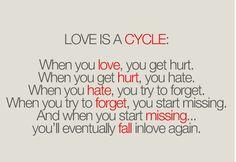 Never fear falling in love....