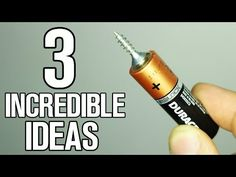 In this video you are watching 3 incredible ideas you can do at home, duct tape flashlight,custom usb drive and battery experiment motor. Will it explode-Bot...