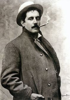 Giacomo Puccini (Dec 1858 - Nov 1924 (65)) - genius son of Lucca and composer of La Boheme (1896), Tosca (1900), Madam Butterfly (1904), Turandot (not performed till after his death - 1926) et al, said that his favourite instrument was his shot gun - very country Tuscan!